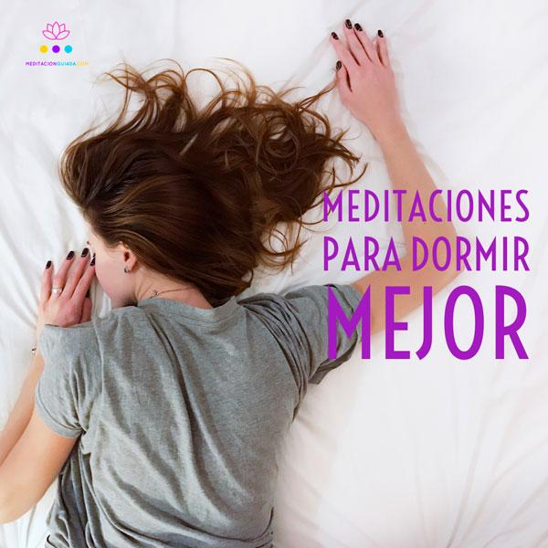 Meditaciones para dormir mejor